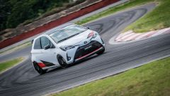 Toyota yaris GRMN by Gazoo Racing: la prova in pista a Vairano