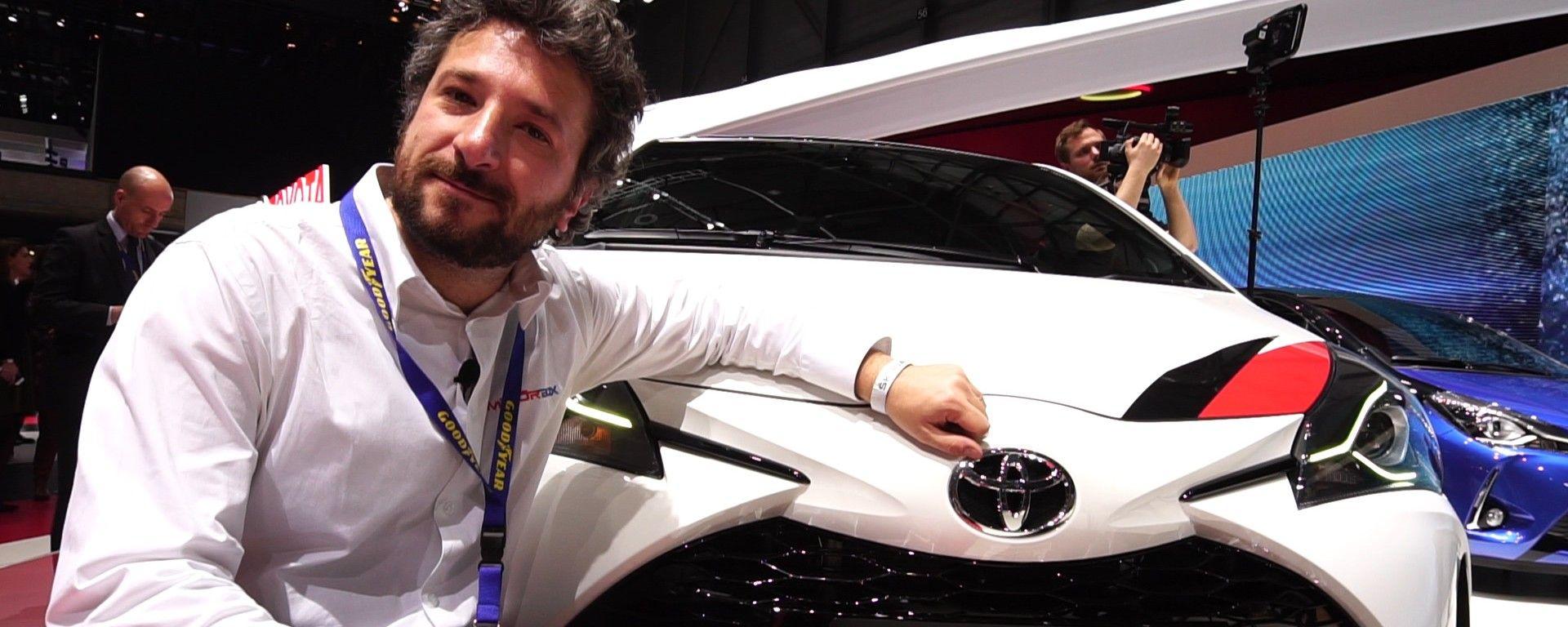 Toyota Yaris GRMN e Hybrid: in video dal Salone di Ginevra 2017