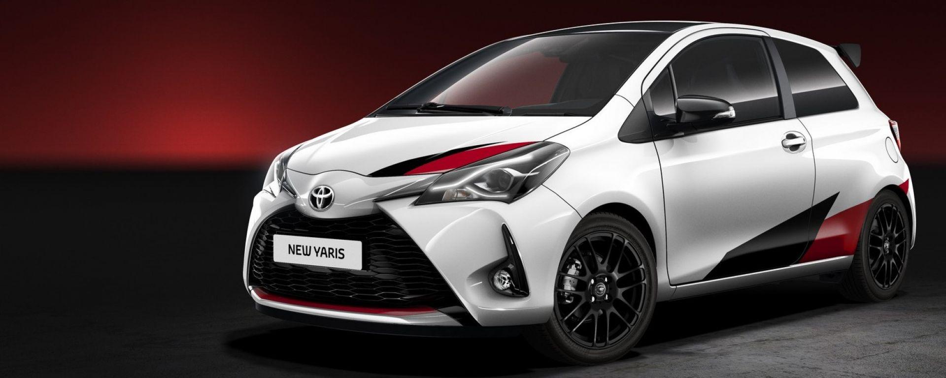 Toyota Yaris GRMN: ecco la versione da 210 cavalli