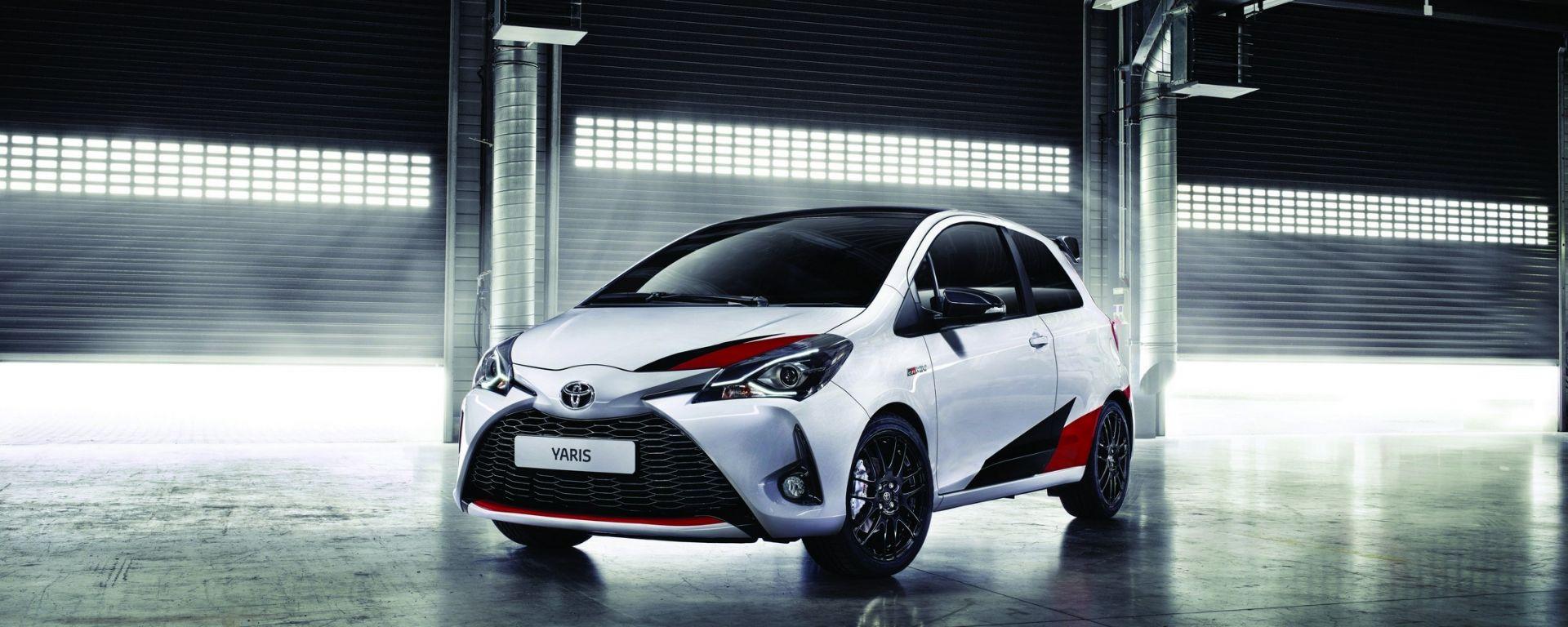 Toyota Yaris GRMN:  la piccola peste del Sol Levante