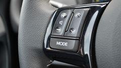 Toyota Yaris Hybrid 2017: comandi al volante, lato sinistro
