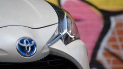 Toyota Yaris Hybrid 2017: dettaglio del frontale