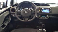 Toyota Yaris Hybrid 2017: la plancia