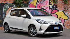 Toyota Yaris Hybrid 2017: vista 3/4 anteriore