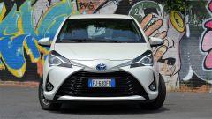 Toyota Yaris Hybrid 2017: vista frontale