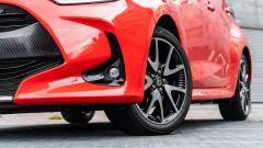 Toyota Yaris Hybrid 2020, dettaglio del faro antinebbia