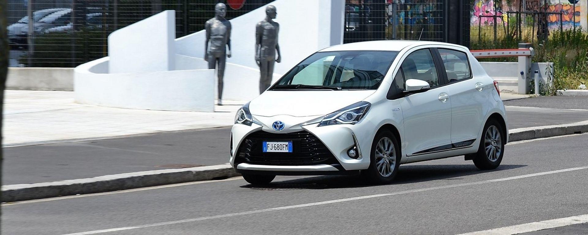 Toyota Yaris Hybrid facelift 2017