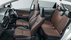 Toyota Yaris: l'impostazione dell'interno della versione restyling rimane invariata
