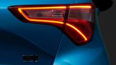 Toyota Yaris restyling: il gruppo ottico posteriore