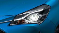 Toyota Yaris restyling: il proiettore led anteriore