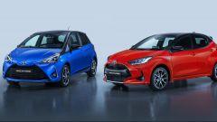 Toyota Yaris terza e quarta generazione