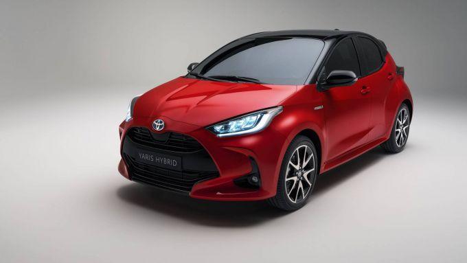 Toyota Yaris, un classico nel mondo dell'ibrido, anche nella versione 2020