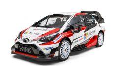 Toyota Yaris WRC: ecco l'auto che correrà nel 2017