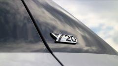 Toyota Yaris Y20: dettaglio bedge Y20