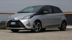 Toyota Yaris Y20: il frontale
