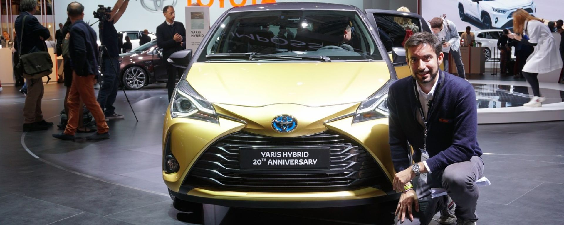 Toyota Yaris Y20: la Special Edition in video da Parigi 2018