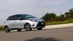 Toyota Yaris Y20: vista 3/4 anteriore