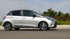 Toyota Yaris Y20: vista lato destro