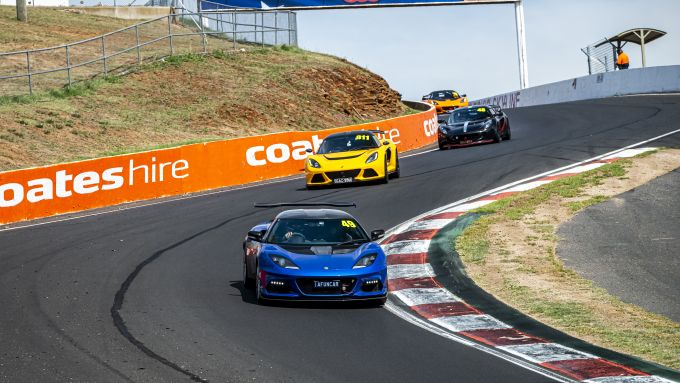 Track Day Lotus a Bathurst