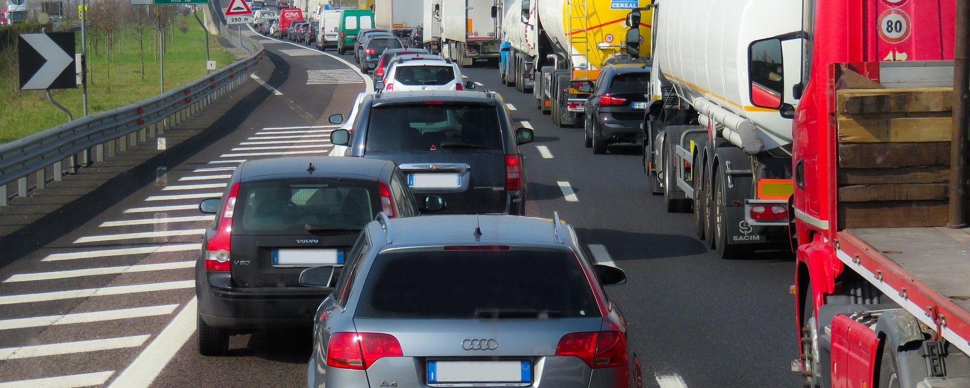 Traffico in autostrada: le previsioni per agosto 2017