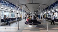 Transit Elevated Bus TEB-1: la cabina passeggeri