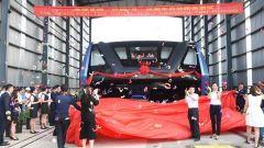 Transit Elevated Bus TEB-1: l'inaugurazione