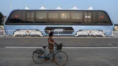 Transit Elevated Bus TEB-1: vista di profilo