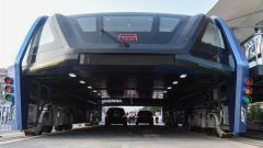Transit Elevated Bus TEB-1: vista frontale