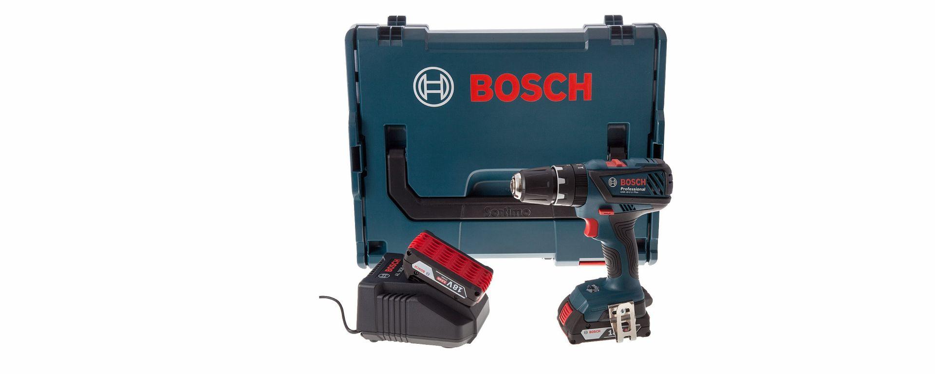 Trapano avvitatore a percussione Bosch GSB 18-2-Li Plus Professional: potente come una moto