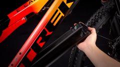 Trek E-Caliber: batteria removibile