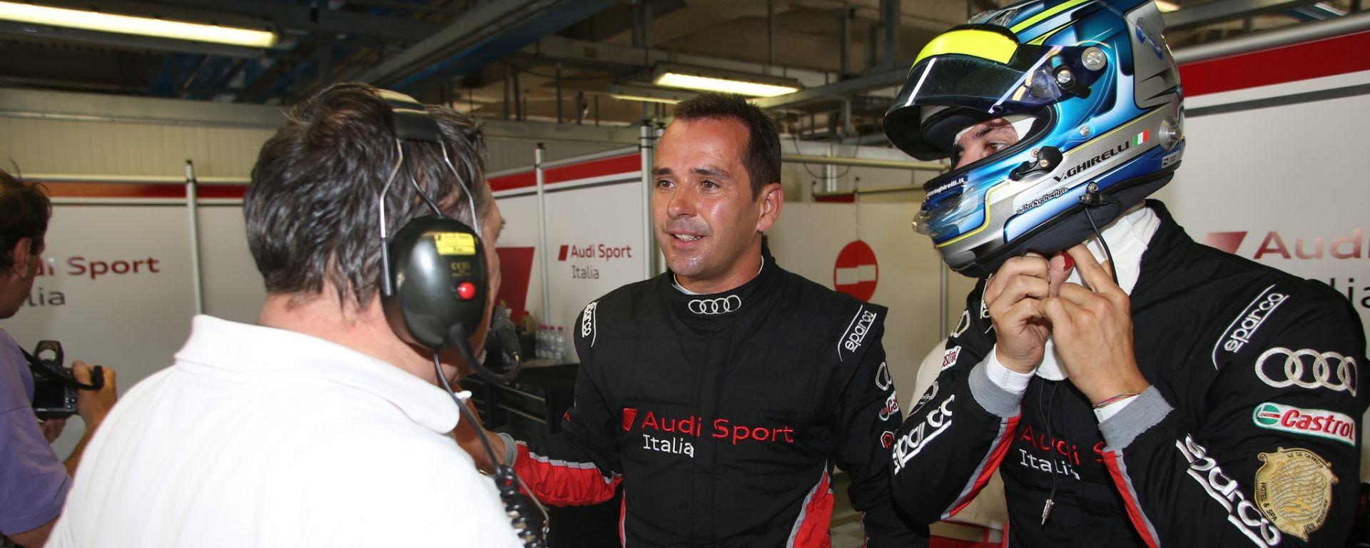 Tréluyer e Ghirelli -  Audi Sport Italia, Campionato GT Italiano