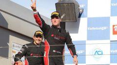 Treluyer e Ghirelli esultano sul podio di Vallelunga
