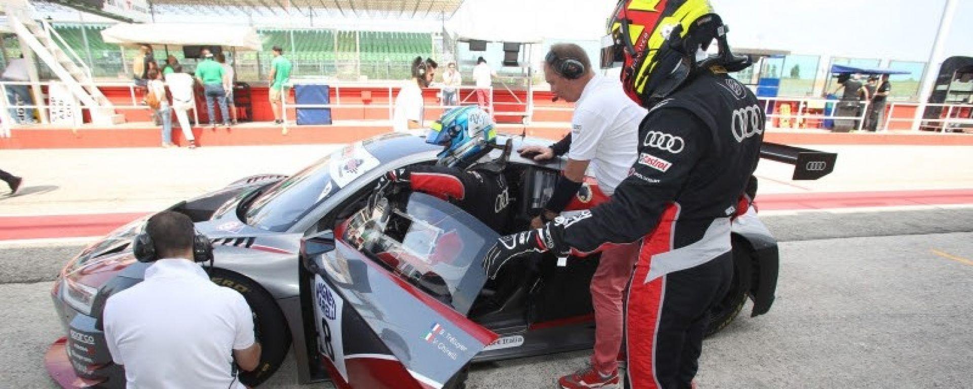 Tréluyer e Ghirelli sulla Audi R8 LMS