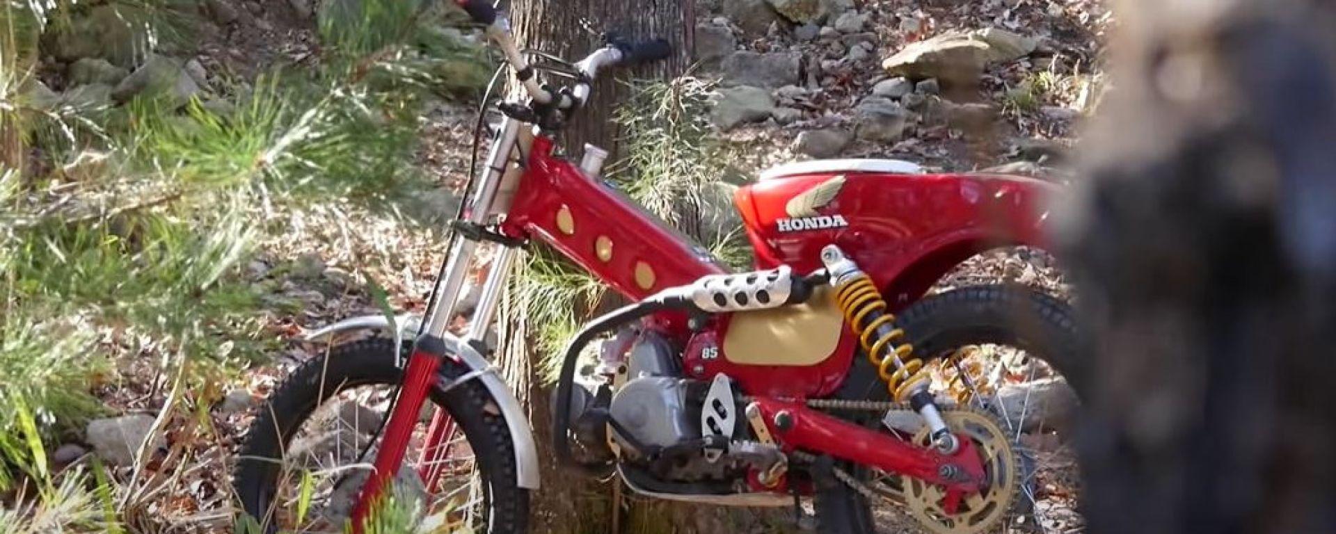 Trial con un vecchio Honda Super Cub? Possibile, guardate il video