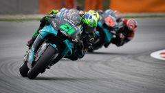 Tris Yamaha con Morbidelli, Rossi e Quartararo