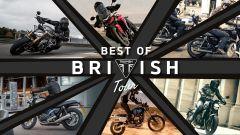Triumph: Best of British Tour 2021, i test ride della gamma su strada