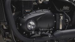 Triumph Bobber Black: dettaglio del motore