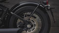Triumph Bobber Black: dettaglio del retrotreno