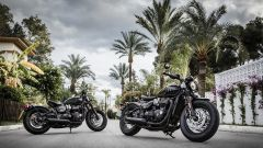 Triumph Bobber black, solo nera lucida o opaca