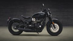 Triumph Bobber Black: vista laterale