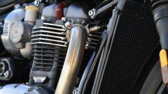 Triumph Bonneville Bobber: dettaglio del motore