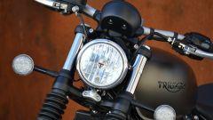 Triumph Bonneville Bobber: il faro