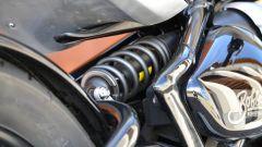 Triumph Bonneville Bobber: il monoammortizzatore posteriore