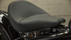 Triumph Bonneville Bobber, mono posteriore