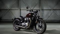 Triumph Bonneville Bobber, prime immagini e info ufficiali