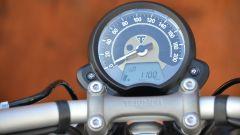 Triumph Bonneville Bobber: quadro strumenti