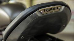 Triumph Bonneville Bobber, sella con struttura in alluminio