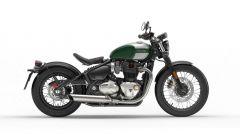 Triumph Bonneville Bobber, verde