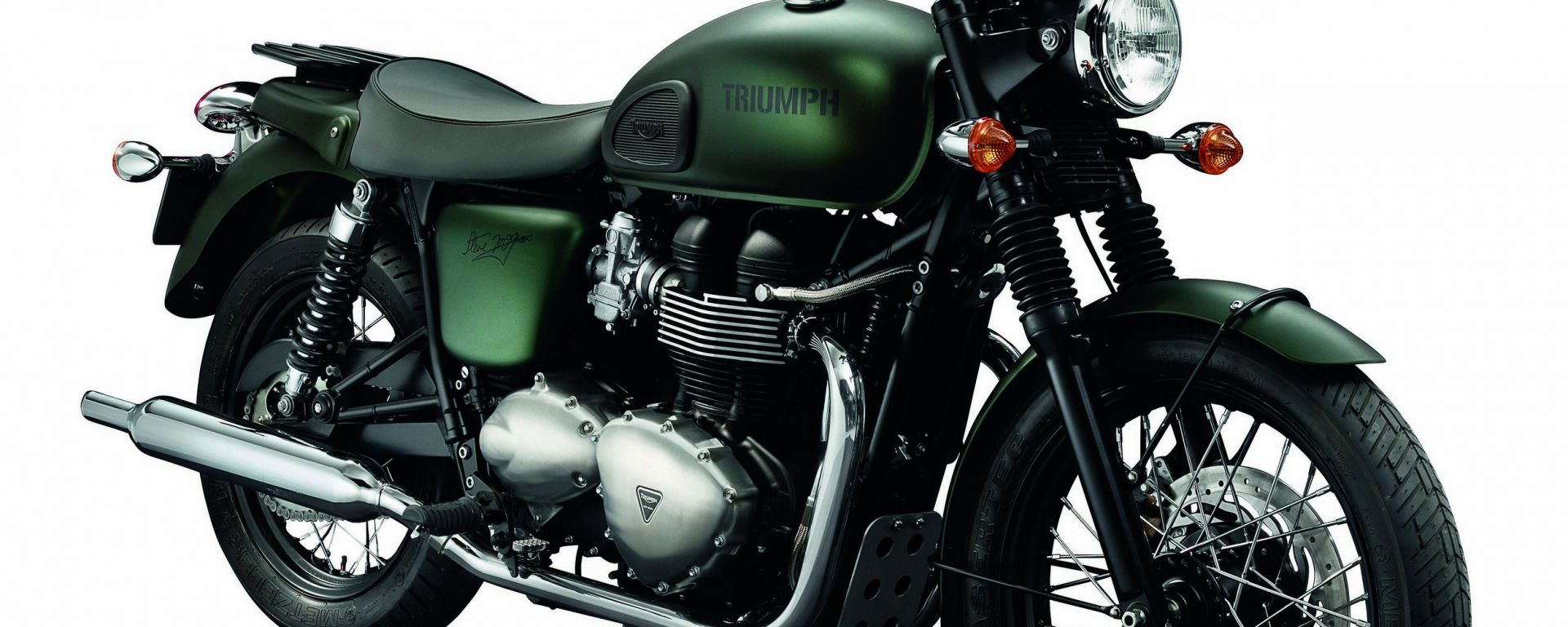 Triumph Bonneville Steve Mc Queen Edition