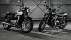 Triumph Bonneville T100 e T100 Black, Intermot 2016